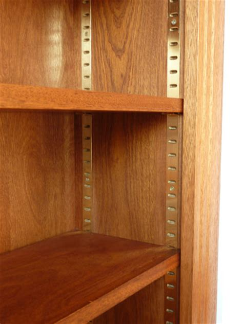 Adjustable Bookcase Strips Hardwood Fitted Bookcases Custom Built By Peter Henderson