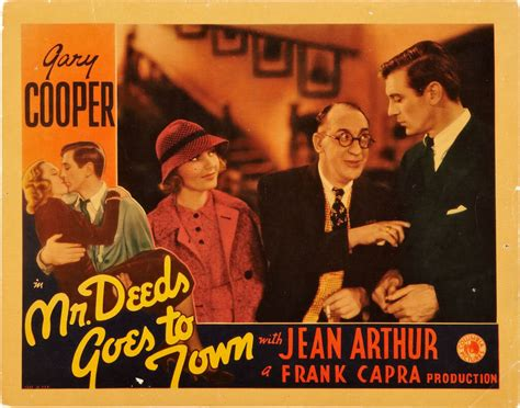 Watch Mr Deeds Goes Town 1936 Full Movie Mr Deeds Goes To Town Poster 2 Dead Curious