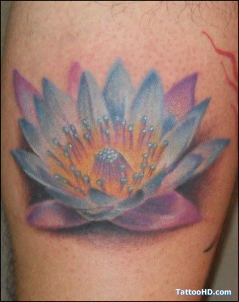 lotus tattoo hawaii color ink hawaiian flower tattoo