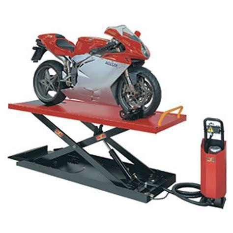 pedana sollevamento moto mondolfo ferro sollevatore moto titan m 600 m sollevatori