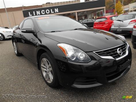 nissan coupe 2011 2011 nissan altima 2 5 s coupe in black 109200