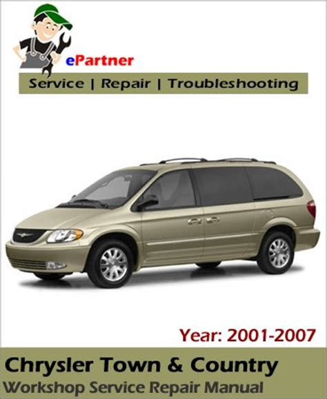 old car repair manuals 2007 chrysler town country auto manual chrysler town country service repair manual 2001 2007 automotive service repair manual