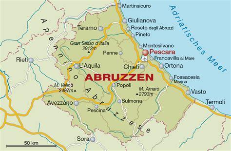 Abruzzen Weinregion Und Weinanbaugebiet In Italien