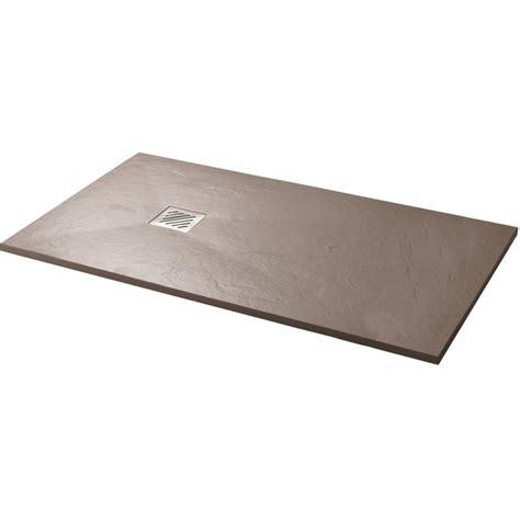 receveur de plat 224 poser 80x140cm couleur argile