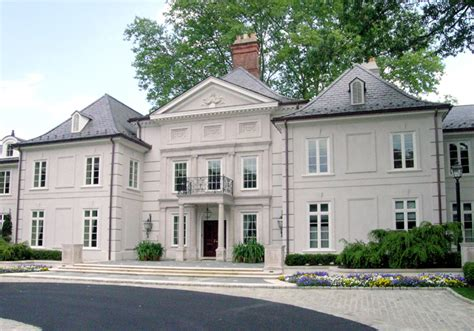 Garage With Apartment Plans by Bryn Mawr French Mansion Homes Of The Rich