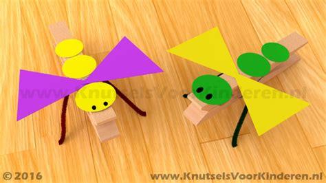 Meiden Knutsel Ideeen by Insect Wasknijper Knutsels Voor Kinderen Leuke