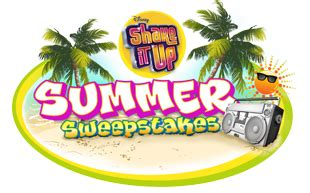 Disney Channel Summer Sweepstakes - disney channel shake it up sweepstakes for a trip to la to meet the stars of the