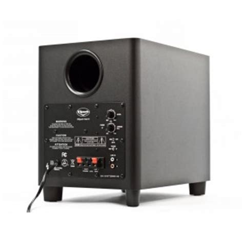 correct subwoofer settings  home theater