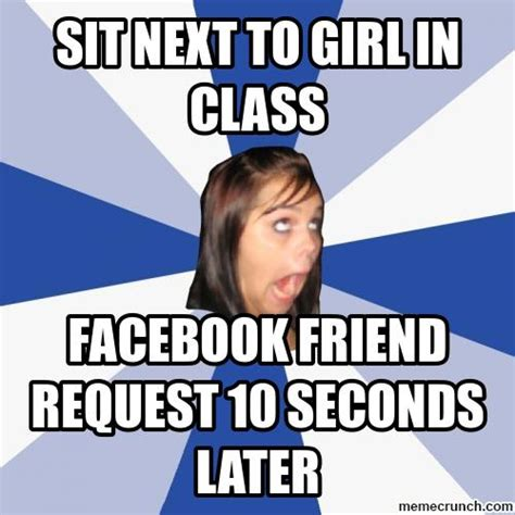 Crazy Face Meme - crazy facebook girl