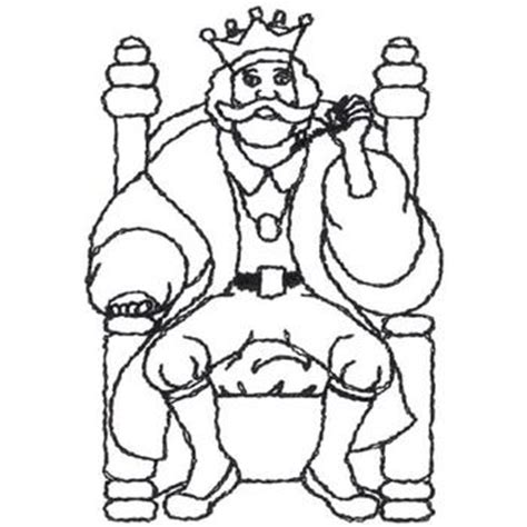outlines embroidery design old king cole outline from