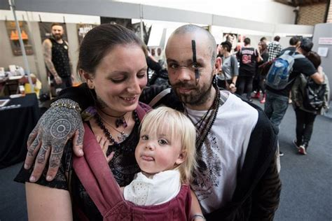 family values tattoo london ink fans tattooed from head to toe show off their wacky