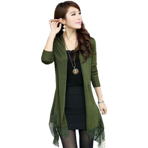 Jaket Sweater Korea Jaket Cardigan Sweater Rajut s 3xl freeshipping fallnew korean lace plus size sweater shawl knitted