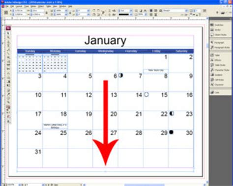 It S Indesign Calendar Template Time Indesignsecrets Indesignsecrets Indesign Calendar Template