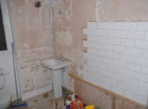Tiling A Bathroom by Our Before And After Bathroom Makeover Modern Maggie