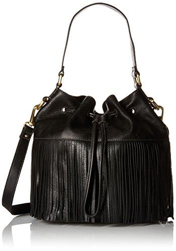 Fossil Drawstring Large Black fossil jules large fringe drawstring black accessory in the uae see prices reviews and buy