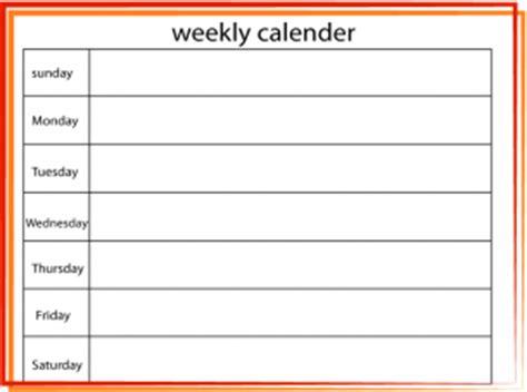 printable daily flip calendar download print blank week calendar calendar template 2016