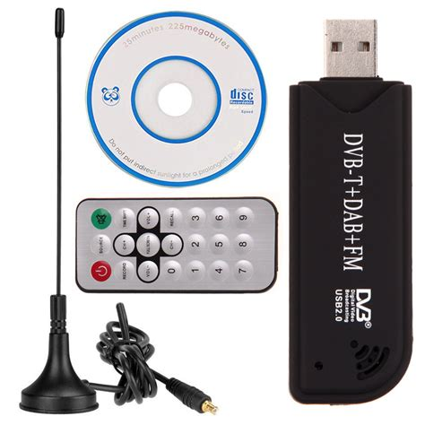 Advance Tv Tuner Usb Stick Putih usb2 0 digital dvb t sdr dab fm hdtv tv tuner receiver stick he rtl2832u fc0012 ebay