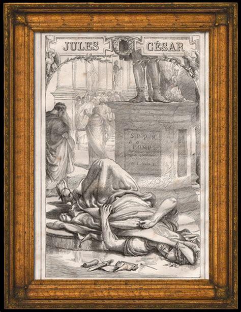 Kaiser Vase Alte Stiche Antikes Rom R 246 Mischer Senat Tod Von