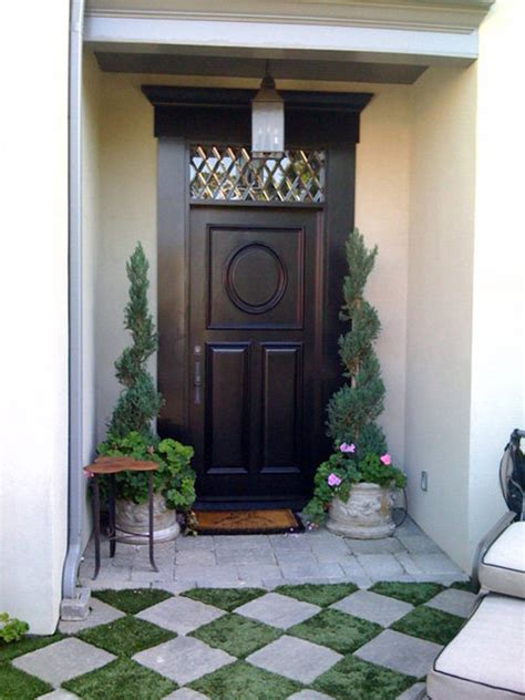 stained glass entry door transom traditional entry