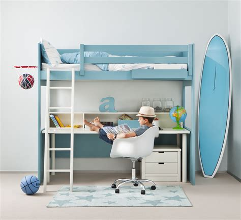 cama con escritorio debajo cama alta con escritorio debajo