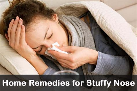12 diy home remedies for stuffy nose