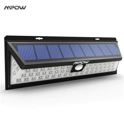 Led Solar Lights Mpow 54 Led Solar Lights Waterproof Solar Lights With 120
