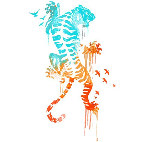 design by humans shirts melted survival tiger shirt by design by humans on deviantart
