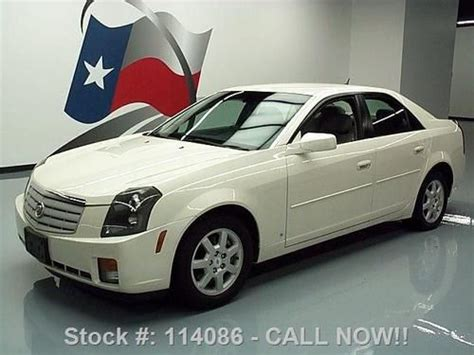 Cadillac Ctr by Buy Used 2007 Cadillac Cts V6 Automatic Leather Cruise