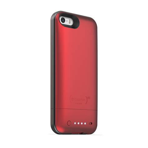 red juice pack air  iphone   shipping mophie