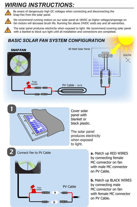 solar greenhouse fan with thermostat solar powered greenhouse fan from snapfans com wiring