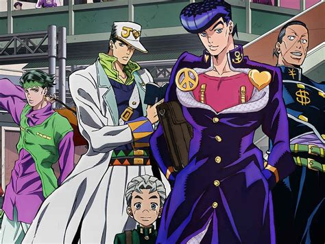 anime jojo anime masterpiece of japan jojo s adventure part