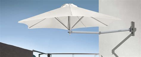 Wall Mounted Patio Umbrella Paraflex Wall Mounted Umbrella Ideal For Tight Spaces