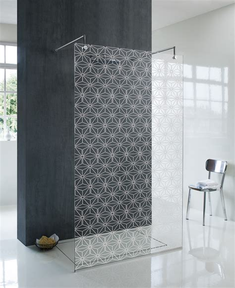 decorative wall with glass doors artistic glass shower wall panel decor ideas