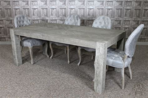 Wood Dining Room Sets rustic oak dining table reclaimed russian oak