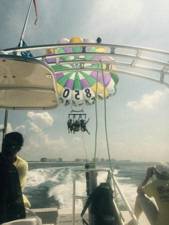 boogies boat rental destin fl parasailing with boogie s picture of boogies watersports