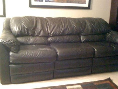 Used Leather Sofa And Loveseat For Sale From Ontario