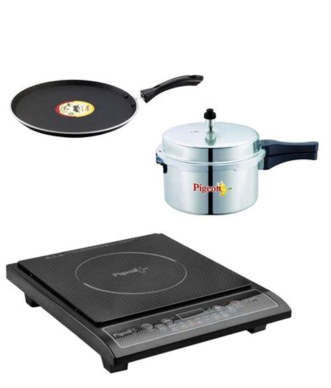 induction cooker with price pigeon combo of rapido induction cooker and tawa available at snapdeal for rs 3799