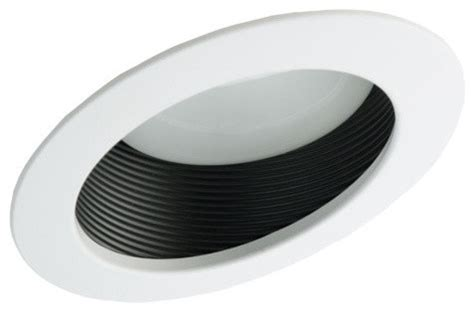 nicor 6 inch recessed baffle trim for sloped ceilings
