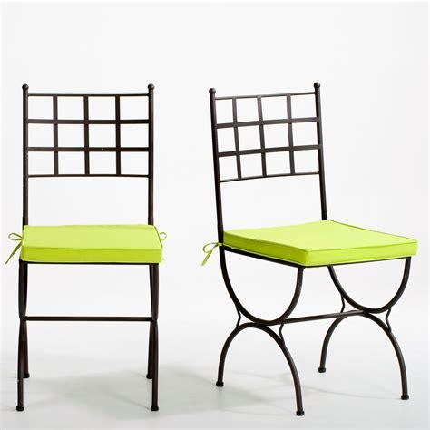 chaises en fer forgé cuisine chaise de salle 195 manger design lot de