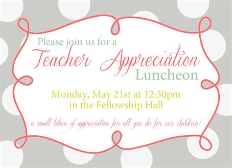 printable lunch invitations free teachers luncheon printable invitations teacher
