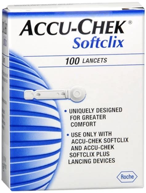 Accu Chek Softclix Lancet Jarum Accucheck accu chek accu check softclix lancets 100 each pharmapacks