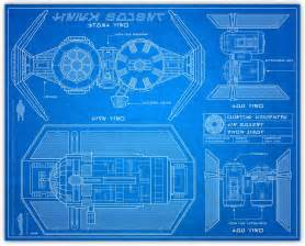 knerdkraft wars blueprint style tie bomber
