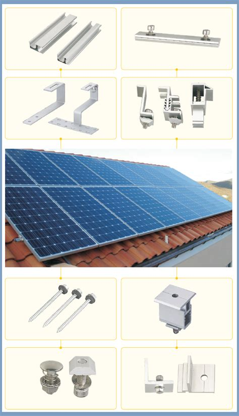 New Flat Energy new energy flat roof mounted commercial 2kw solar power
