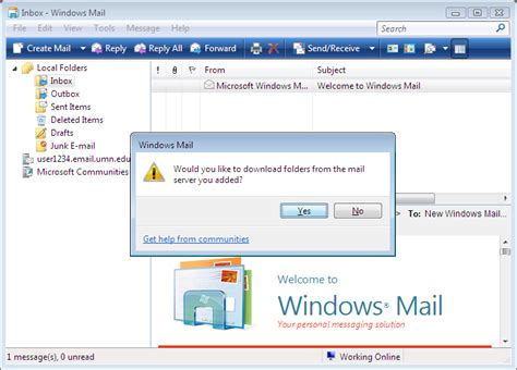 email windows set up email in windows mail windows7 8 users only
