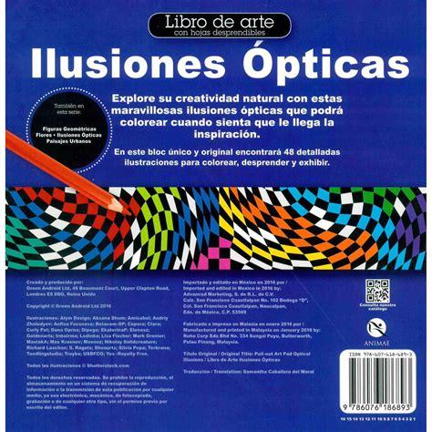 ilusiones opticas libro sanborns en internet libro de arte ilusiones 211 pticas