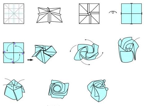 Origami Flower Pdf - 17 best ideas about origami on origami