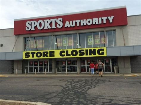 get discounted athletic gear as sports authority slated to