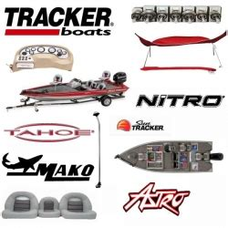grizzly boats logo tracker marine accessories