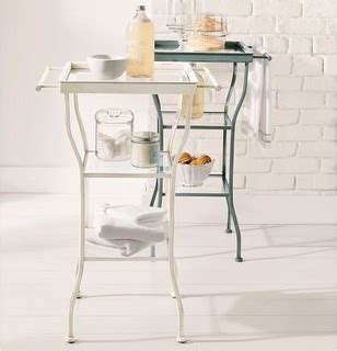 bathtub side table painted metal accent table large contemporary side