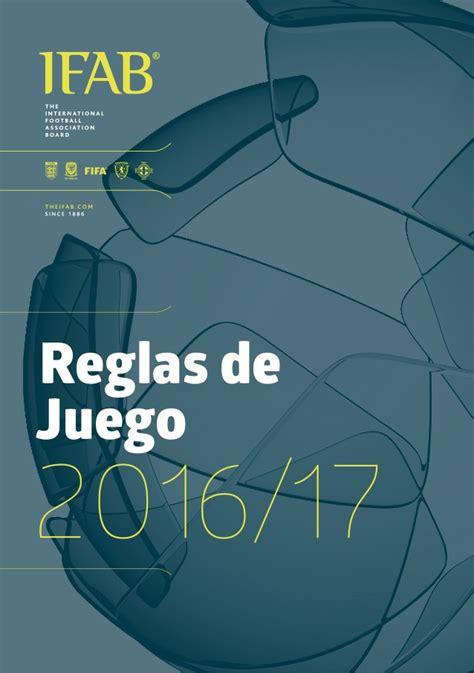 regla de prospera 2016 reglas de juego 2016 2017 espa 241 ol versi 243 n final